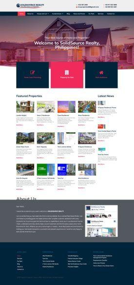 Real State Website Design