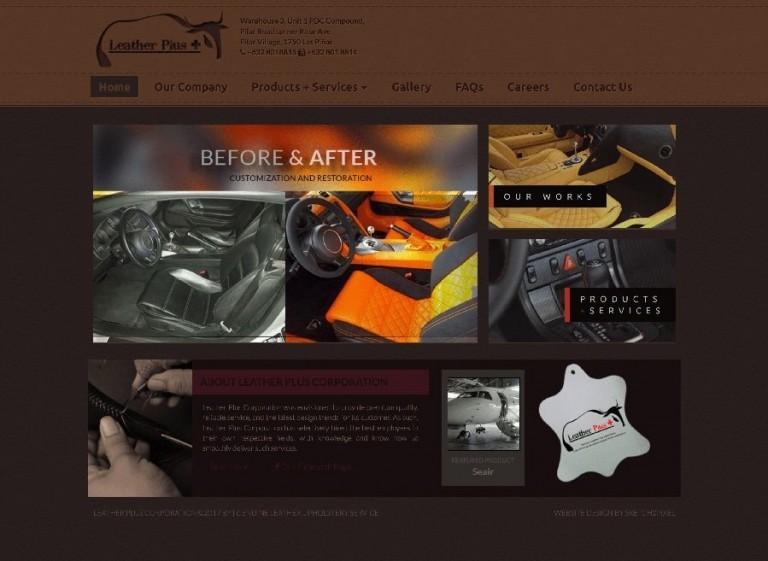 brochure company website