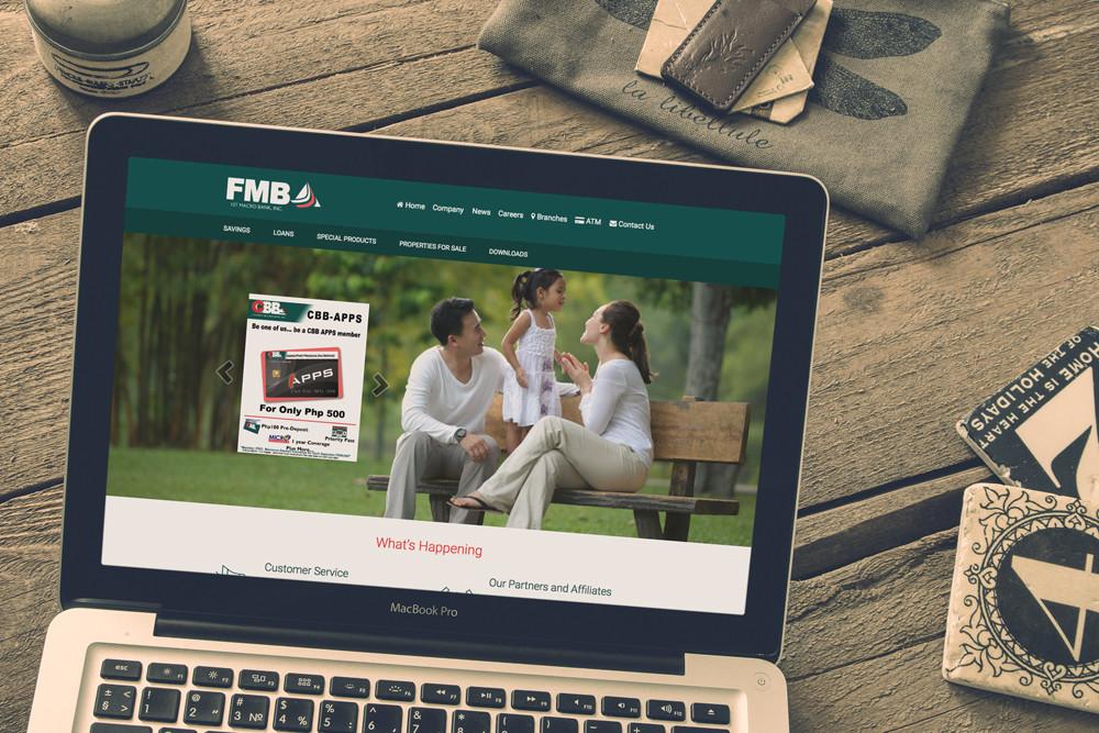 Bank Website Design